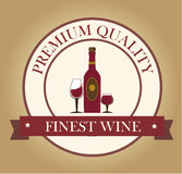 Wine design Royalty Free Stock Image