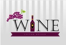 Wine design Stock Photo