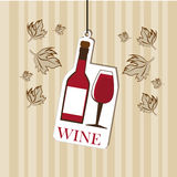 Wine design Royalty Free Stock Images