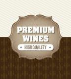 Wine design Royalty Free Stock Photos