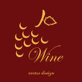 Wine design Stock Photo