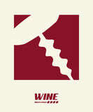 Wine design Royalty Free Stock Photography