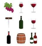 Wine design. Royalty Free Stock Photo