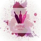 Wine Design Template Stock Photo