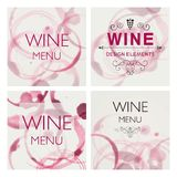 Wine Design Template Royalty Free Stock Image
