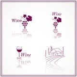Wine Designs Royalty Free Stock Photo