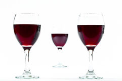 Wine distances Royalty Free Stock Photos