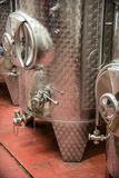 Wine distilling Stock Photography