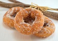 Wine donuts Stock Photos