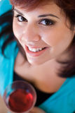Wine Drinker Royalty Free Stock Images