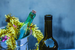 Wine and drinks Royalty Free Stock Photo
