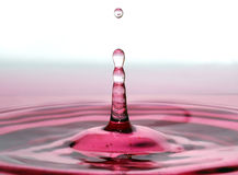 Wine Drop Stock Photo