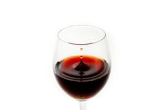 Wine drop Royalty Free Stock Image