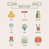 Wine Elements Stock Image