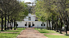 Wine Estate Boschendal, Royalty Free Stock Photos