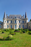 Wine estate in France, medoc, bordeaux Stock Photo