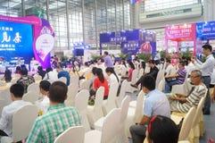 Wine exhibition and tea culture seminar Stock Photos
