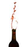 Wine Explosion stock image