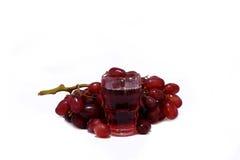 wine för 2 druvor Arkivbilder