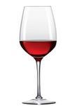 wine för 2 exponeringsglas Arkivfoton