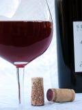 wine för 4 foto Arkivfoton