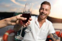 wine för exponeringsglas två royaltyfria foton