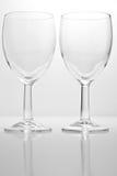 wine för exponeringsglas två Royaltyfri Fotografi