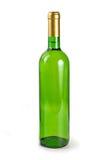 wine för flaskgreen Arkivbilder