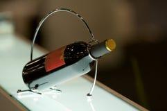wine för flaskhållare Royaltyfri Fotografi