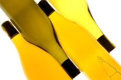 wine för flaskor fyra Arkivbild
