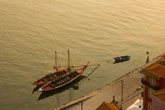 wine för rabelo för fartygporto portug arkivbild