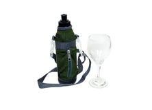 wine för vatten för flaskexponeringsglas Royaltyfria Foton