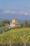 Wine farm in Chianti Stock Photos