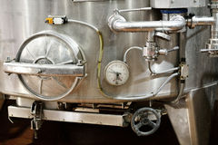 Wine Fermentation Vats Royalty Free Stock Photo