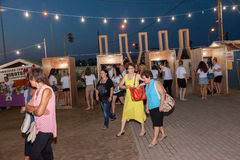 Wine Festival 2014 in Alexandroupolis - Greece Royalty Free Stock Image