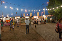 Wine Festival 2014 in Alexandroupolis - Greece Royalty Free Stock Photo