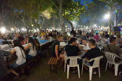 Wine Festival 2014 in Alexandroupolis - Greece Stock Images