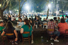 Wine Festival 2014 in Alexandroupolis - Greece Royalty Free Stock Images