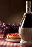 Wine Flask Stock Image
