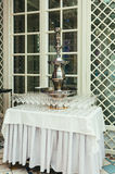 Wine fountain Royalty Free Stock Photos