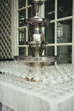 Wine fountain Stock Photos