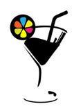 Wine/Fresh juice glass Stock Photography
