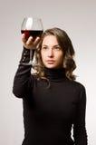 Wine fun. Stock Image