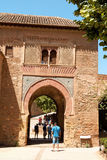 Wine Gate (Puerta del Vino), Granada, Spain Stock Image