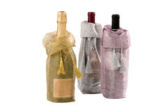 Wine gift bags Stock Photo