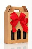 Wine gift box Stock Photos