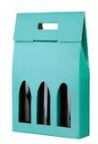 Wine gift box Royalty Free Stock Photo