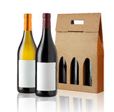Wine gift box Stock Photography