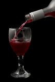 Wine and glass #1 royalty free stock photos