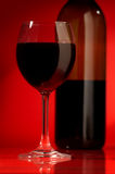 Wine in a glass Stock Photos